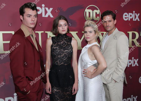 Stock Photo of Jack Bannon, Emma Corrin, Paloma Faith and Ben Aldridge