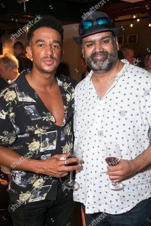 Karl Queensborough and Tony Jayawardena