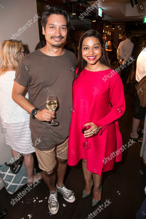 Stock Photo of Raj Ghatak and Ayesha Dharker