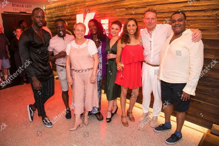 Aston New (The Hustler), Joseph Poulton (The Barman), Suzie McKenna (Director), Sharon D Clarke (The Lady), Gemma Sutton (The Girl), Debbie Kurup (The Woman), Frank Thompson (Choreographer) and Clive Rowe (The Man)