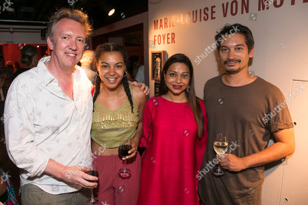Stock Image of Richard Lumsden, Nenda Neurer, Ayesha Dharker and Raj Ghatak