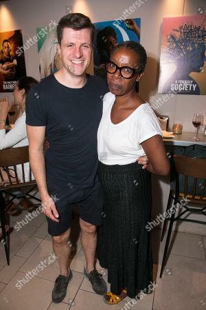 Neil Austin (Lighting Designer) and Noma Dumezweni