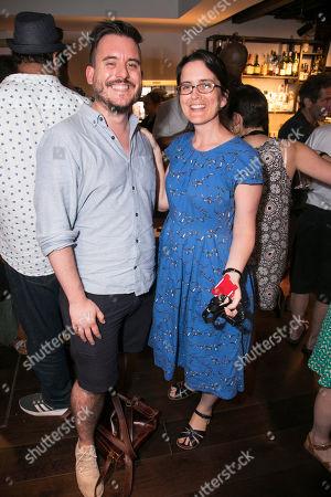 Michael Longhurst and Daisy Heath (Executive Director)