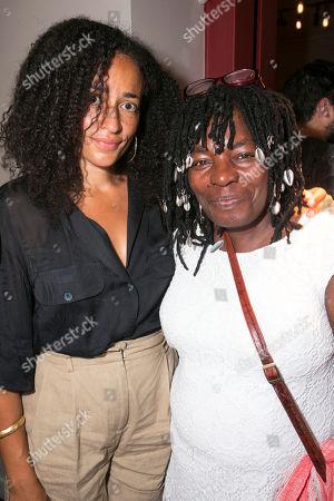Zadie Smith and Yvonne Bailey-Smith