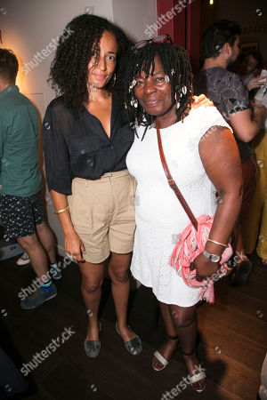 Stock Image of Zadie Smith and Yvonne Bailey-Smith
