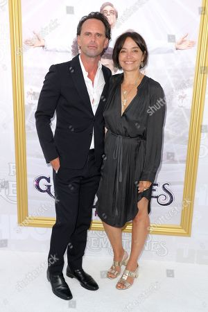 Stock Image of Walton Goggins and Nadia Conners