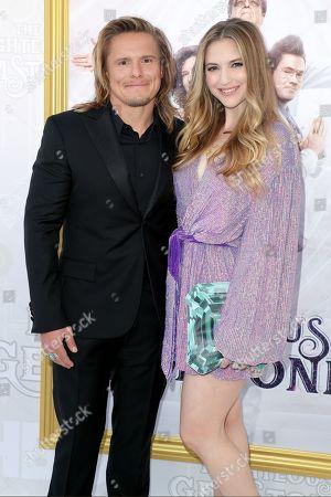Stock Image of Tony Cavalero and Annie Cavalero