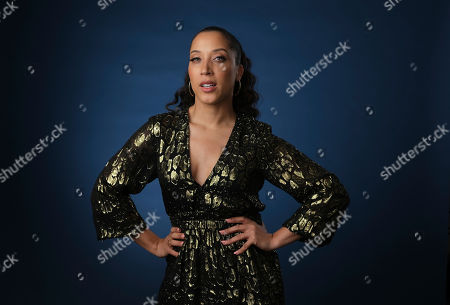 """Robin Thede, the creator, star and executive producer of the HBO comedy series """"A Black Lady Sketch Show,"""" poses for a portrait during the 2019 Television Critics Association Summer Press Tour at the Beverly Hilton, in Beverly Hills, Calif"""