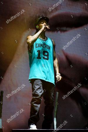 Stock Picture of Wiz Khalifa