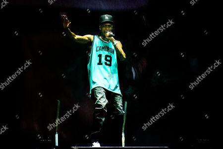 Editorial image of Wiz Khalifa in concert, Toronto, Canada - 23 Jul 2019