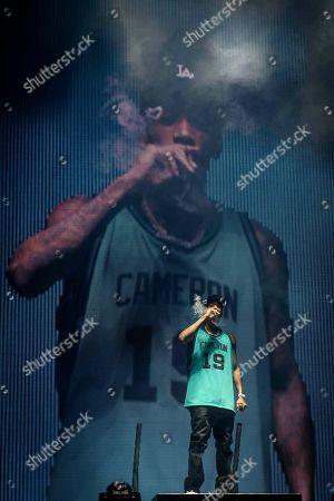 Stock Image of Wiz Khalifa