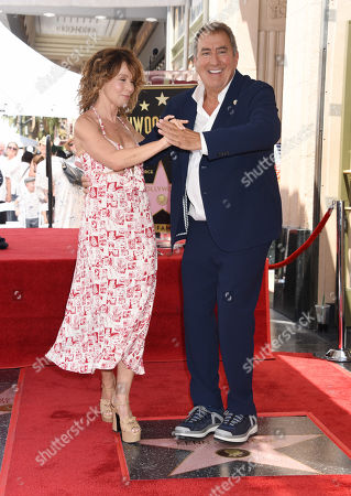 Jennifer Grey and Kenny Ortega