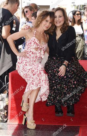 Jennifer Grey and Kathy Najimy