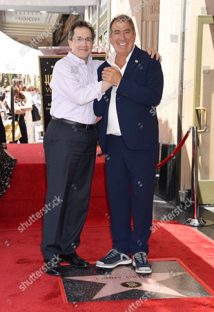 Stock Photo of Gary Marsh and Kenny Ortega