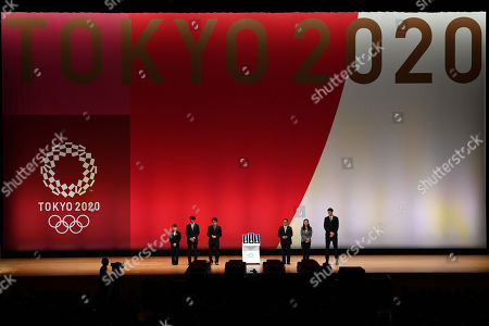 Editorial picture of 2020 Olympic Games 'One Year to Go' ceremony, Tokyo, Japan - 24 Jul 2019