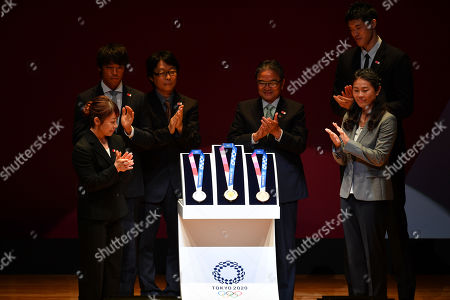 Editorial image of 2020 Olympic Games 'One Year to Go' ceremony, Tokyo, Japan - 24 Jul 2019