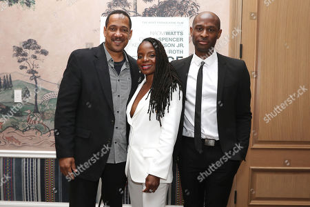 Stock Photo of Christopher Mann, Marsha Stephanie Blake and Julius Onah (Writer, Director)