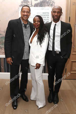 Stock Picture of Christopher Mann, Marsha Stephanie Blake and Julius Onah (Writer, Director)