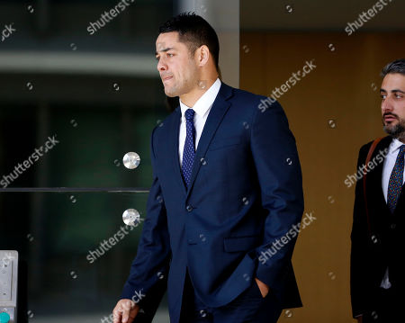 Editorial picture of Former Austrlian NRL player Jarryd Hayne on trial for aggravated sexual assault, Newcastle, Australia - 25 Jul 2019