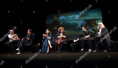 David Heyman, Shannon Macintosh, Barbara Ling, Arianna Phillips and Robert Richardson