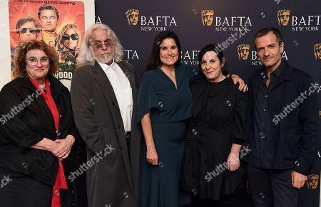 Barbara Ling, Robert Richardson, Shannon Macintosh, Arianna Phillips and David Heyman