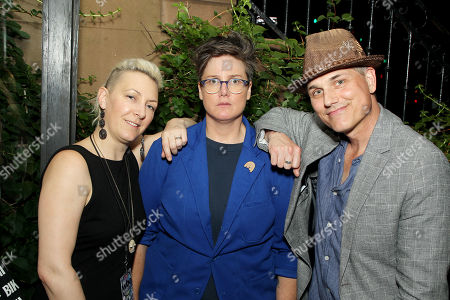 Stock Image of Ry Pepper, Hannah Gadsby, Asa Somers