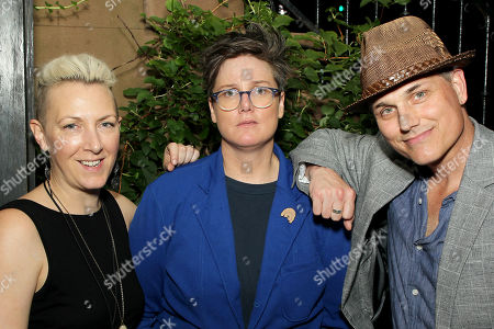 Stock Photo of Ry Pepper, Hannah Gadsby, Asa Somers