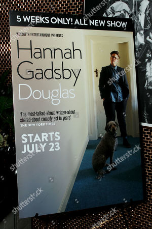 Editorial photo of Hannah Gadsby's 5 Week New York City Leg of her New Stand-Up Comedy Show 'Douglas', New York, USA - 24 Jul 2019