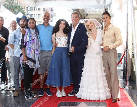 Kenny Ortega, Dove Cameron, Boo Boo Stewart, Maya Boyce, Victor Boyce