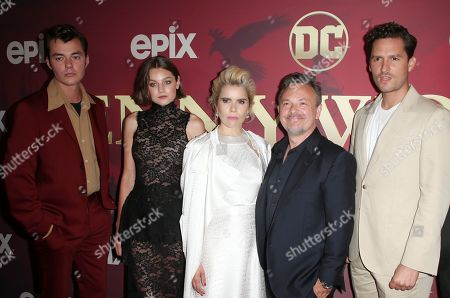 Editorial image of 'Pennyworth' TV Show Premiere, Arrivals, Harmony Gold, Los Angeles, USA - 24 Jul 2019