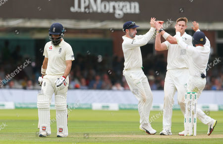 Editorial image of England v Ireland, Specsavers Test Match, Day 2, Cricket, Lord's Cricket Ground, London, UK - 25 Jul 2019