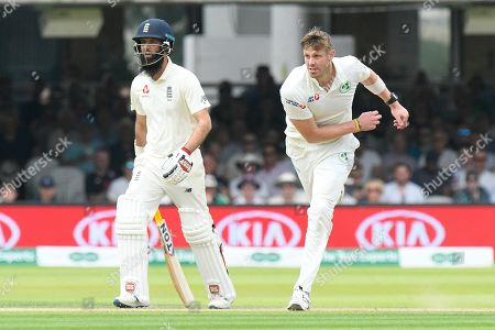 Boyd Rankin of Ireland bowling during the International Test Match 2019 match between England and Ireland at Lord's Cricket Ground, St John's Wood