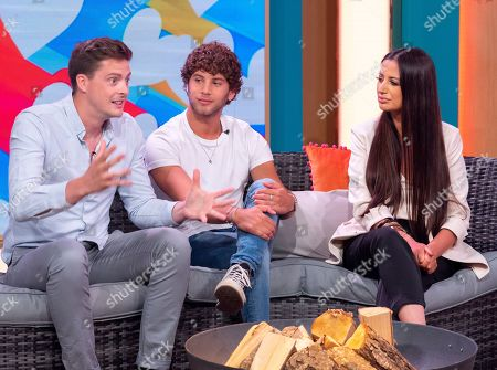 Dr Alex George, Eyal Booker and Chantelle Houghton