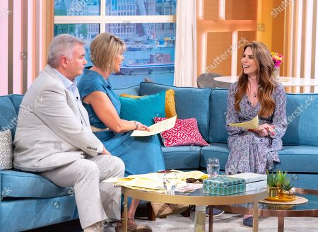 Eamonn Holmes and Ruth Langsford with Emma Kenny