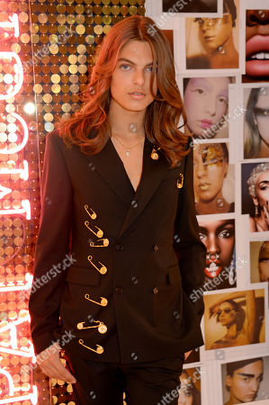 Pat McGrath Muse Damian Hurley launches the Pat McGrath Labs new product range, 'Sublime Perfection: The System' at Selfridges