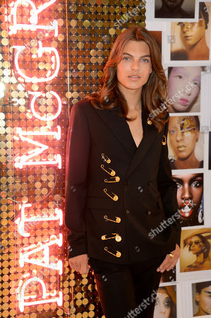 Editorial picture of Pat McGrath Labs 'Sublime Perfection: The System' photocall with Damian Hurley, London, UK - 25 Jul 2019