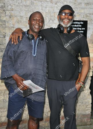 Editorial photo of 'Barber Shop Chronicles' play opening night, London, UK - 24 Jul 2019