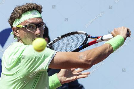 Editorial image of Swiss Open tennis tournament in Gstaad, Switzerland - 25 Jul 2019