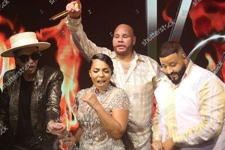 DJ Cassidy, Ashanti, Fat Joe and DJ Khaled