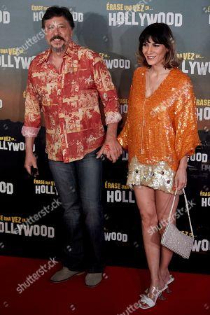 Stock Photo of Carlos Bardem and Cecilia Gessa