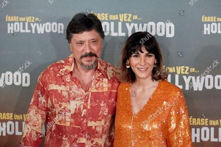 Stock Picture of Carlos Bardem and Cecilia Gessa