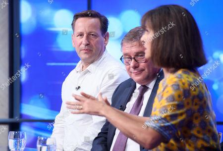Ed Vaizey, Mark Francois and Caroline Flint