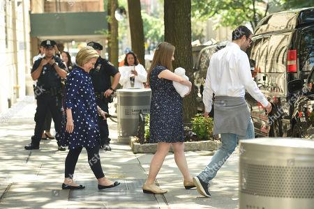 Hillary Clinton, Chelsea Clinton, Jasper Clinton Mezvinsky, Marc Mezvinsky