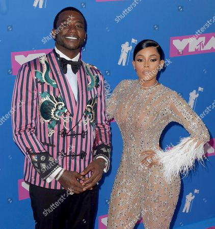 Stock Image of Gucci Mane and Keyshia Ka'oir