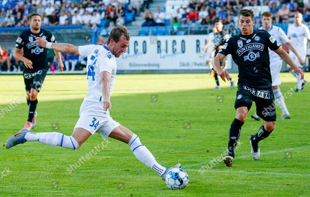 Editorial photo of FK Haugesund - Sturm Graz, Norway - 25 Jul 2019