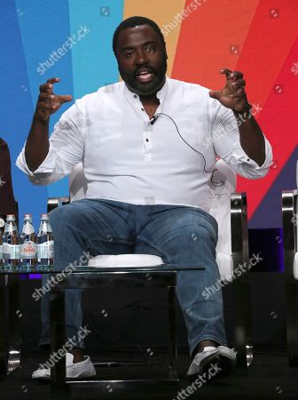 """Co-creator Bashir Salahuddin participates in IFC's """"Sherman's Showcase"""" panel at the Television Critics Association Summer Press Tour, in Beverly Hills, Calif"""