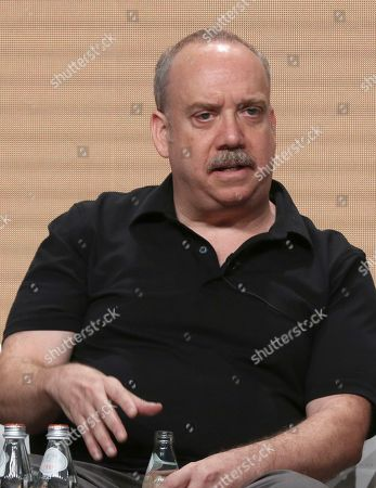 "Paul Giamatti participates in AMC's ""Lodge 49"" panel at the Television Critics Association Summer Press Tour, in Beverly Hills, Calif"