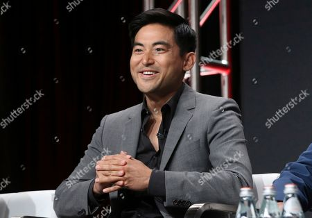 """Stock Image of Derek Mio participates in AMC's """"The Terror: Infamy"""" panel at the Television Critics Association Summer Press Tour, in Beverly Hills, Calif"""