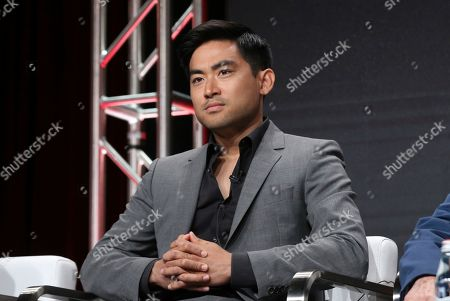 """Stock Photo of Derek Mio participates in AMC's """"The Terror: Infamy"""" panel at the Television Critics Association Summer Press Tour, in Beverly Hills, Calif"""