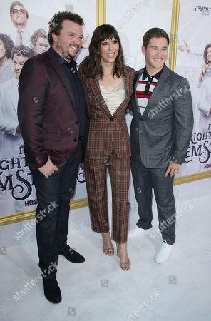 Danny McBride, Edi Patterson and Adam Devine